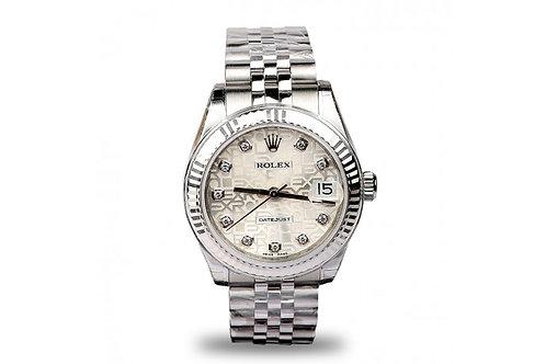 Rolex Datejust 31 Steel & White Gold