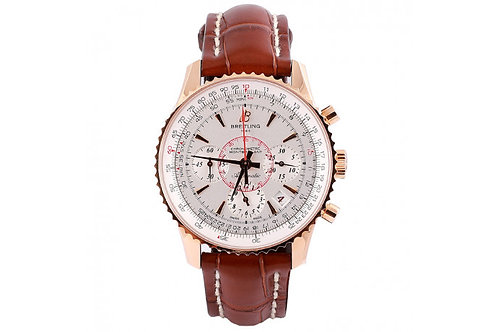 Breitling Montbrilliant Limited Edition 38mm Rose Gold & Leather