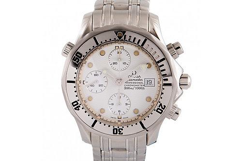 Omega Seamster Professional 300M Diver Chronometer Chronograph 41.5mm Steel