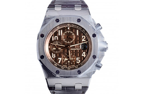 Audemars Piguet Royal Oak Offshore Chronograph Brown Dial 42mm Steel