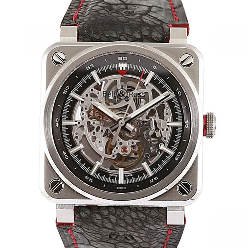 Bell & Ross AeroGT Limited Edition Skeleton Dial 42mm Steel
