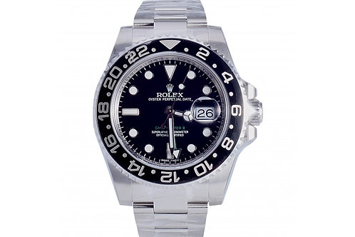 Rolex GMT-Master II Black Dial 40mm Steel