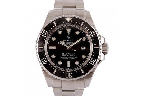 Rolex Deepsea Sea-Dweller Black Dial 44mm Steel