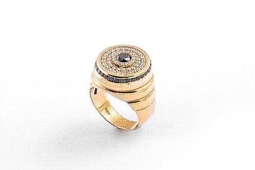 Black Diamond Designer Ring
