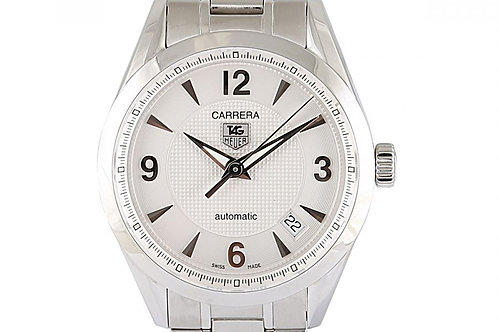 Tag Heuer Carrera White Dial Steel 36mm