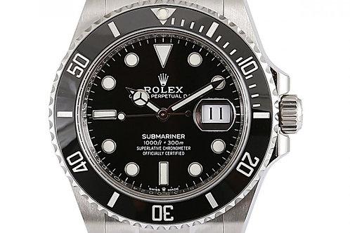 Rolex Submariner Date Black Dial 41mm Steel