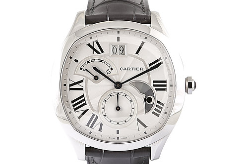 Cartier Drive De Second Time Steel with Leather 41mm