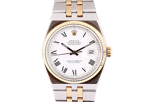 Rolex Oyster 36mm Quartz Steel and Gold