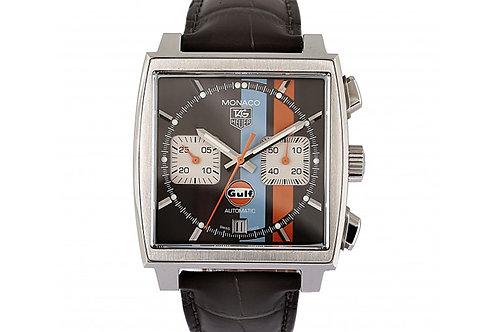Tag Heuer Monaco Vintage Limited Edition Grey Dial 39mm Steel