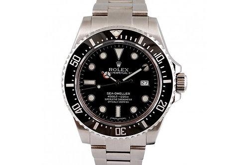 Rolex Sea-Dweller 4000 Black Dial 40mm Steel