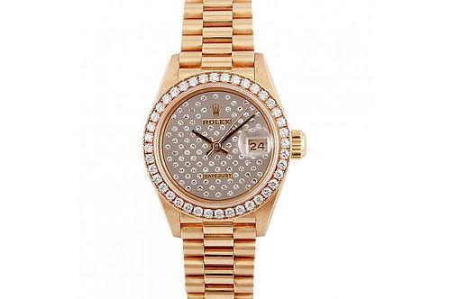 Rolex Datejust Diamond Dial 26mm Yellow Gold & Diamonds