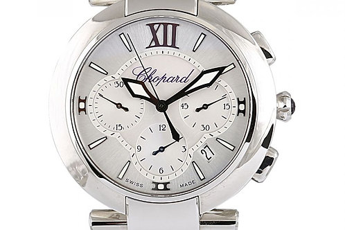 Chopard Imperiale Chronograph Mother of Pearl Dial 40mm Steel