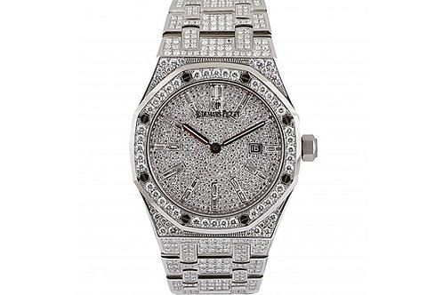 Audemars Piguet Royal Oak Diamond Dial 33mm Steel & Diamonds