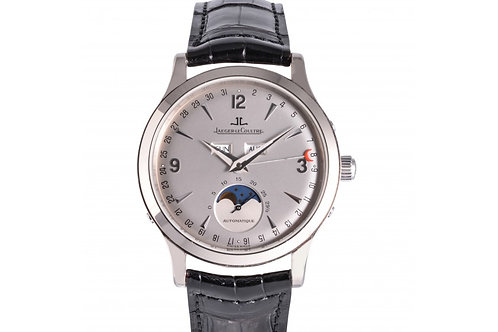 Jaeger-LeCoultre Limited Edition Master Control Triple Calendar Moonphase Silver