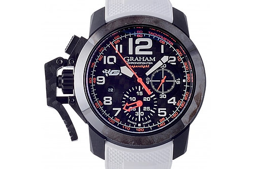 Graham Chronofighter Oversize Superlight GT Asia Limited Edition Black Dial 47mm