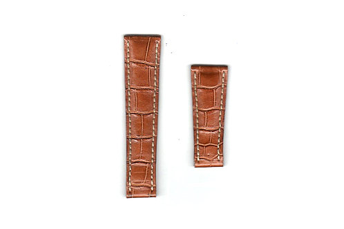 Rolex Brown Leather Strap 20mm