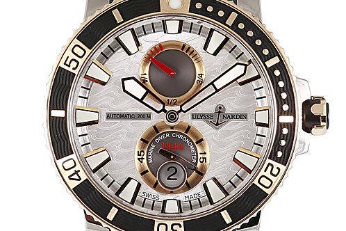 Ulysse Nardin Maxi Marine Chronometer Steel & Gold 45mm
