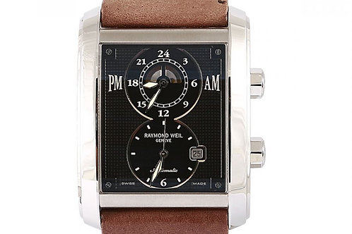 Raymond Weil Don Giovanni Cosi Grande Dual Time Black Dial 40mm Steel