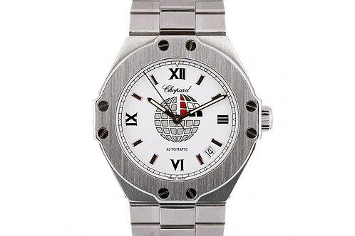 "Chopard St. Moritz ""UAE Edition"" White Dial 37mm Steel"