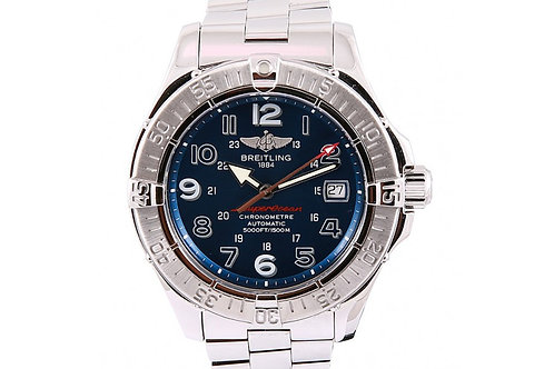 Breitling Superocean Blue Dial 42mm Steel