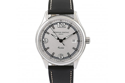 Frederique Constant Vintage Rally Limited Edition Silver Dial 40mm Steel