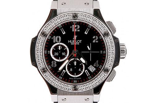 Hublot Big Bang Chronograph 41mm Steel & Diamonds