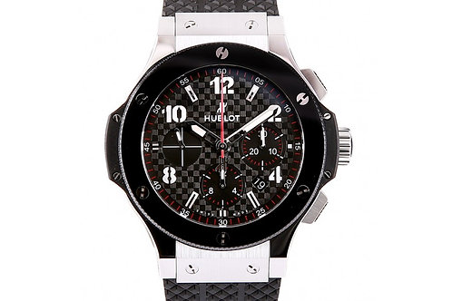 Hublot Big Bang Chronograph Ceramic & Steel 44mm