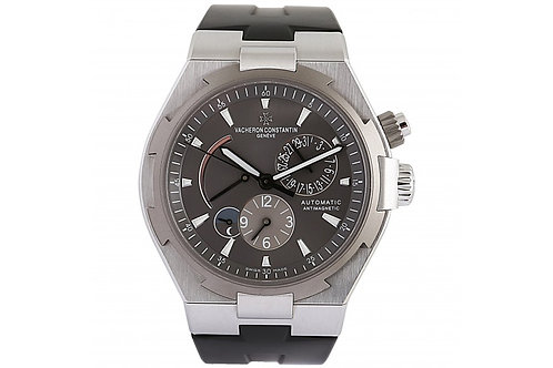 Vacheron Constantin Overseas Dual Time Anthracite Dial 42mm Steel