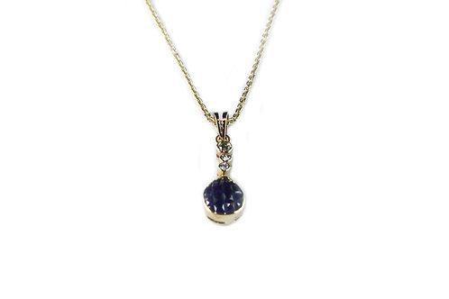 Drop Sapphire Pendant