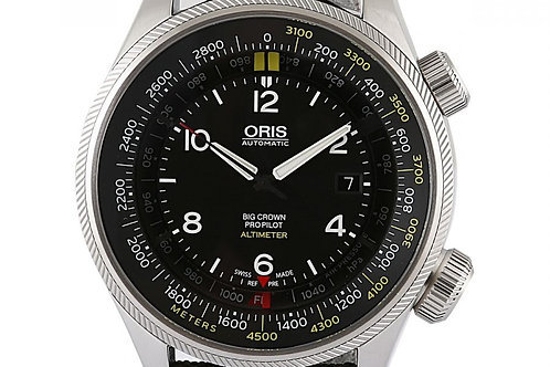 Oris Big Crown ProPilot Altimeter Black Dial 47mm Steel