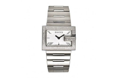 GUCCI Steel with Diamonds 1.5ct