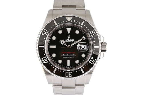 Rolex Sea-Dweller Black Dial 43mm Steel