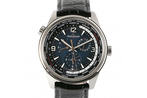 Jaeger-LeCoultre Polaris Geographic WT Limited Edition Chronograph Blue Dial 42m