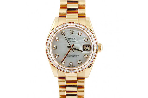 Rolex Datejust Yellow Gold and Diamonds 31mm