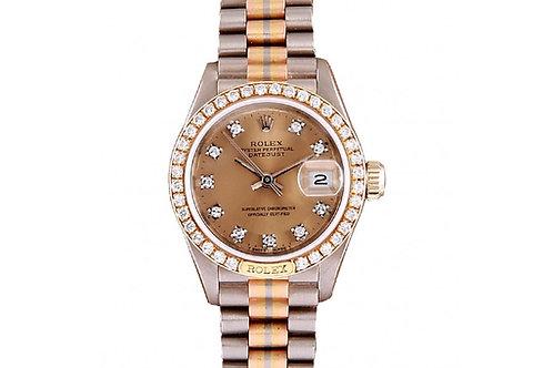 Rolex Datejust Tridor 26mm Steel, Yellow Gold & Diamonds