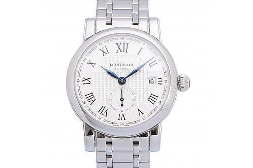 Montblanc Star Date Silver Dial 39mm Steel