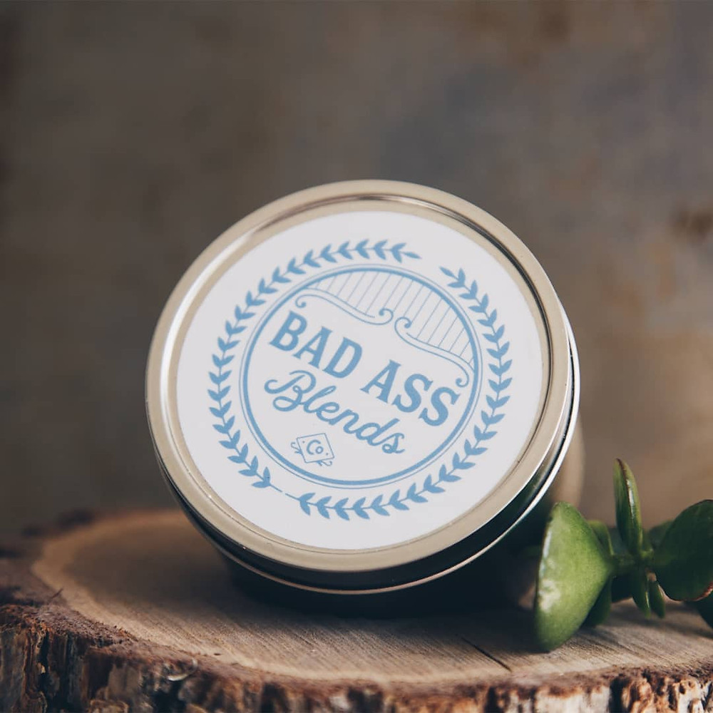 Picture of baby bottom balm in a can
