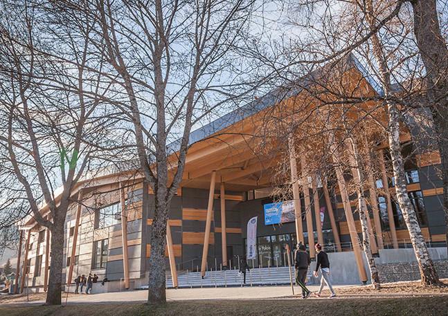 Espace d'expositions, Palais de Megève