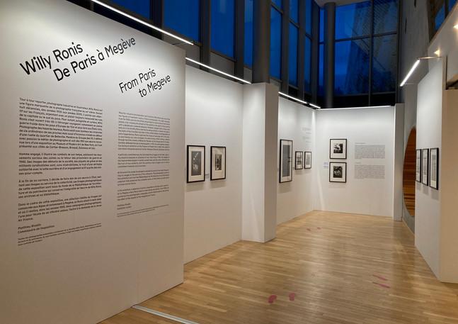 Direction artistique des expositions temporaires de la Ville de Megève