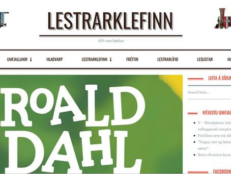 Risastóri krókódíllinn fær fimm stjörnur hjá Lestrarklefanum