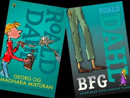 Nýjar útgáfur af BFG og Georg og mögnuðu mixtúrunni komnar í verslanir