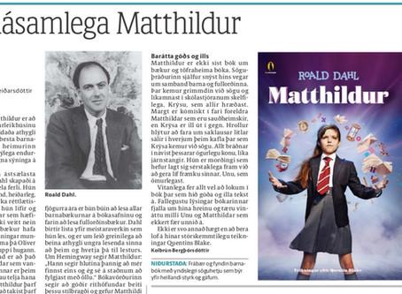 Hin dásamlega Matthildur!