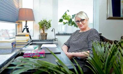 Sólveig Sif Hreiðrsdóttir - mynd úr Morgunblaðinu 12. mars 2019