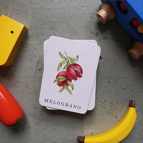 Cards Montessori
