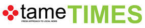 Tame Times Newspaper Logo