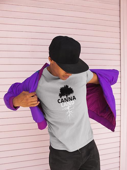 Canna Land - Black & White Tree