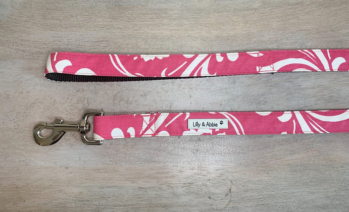 Dog Leash - Abigail Pink