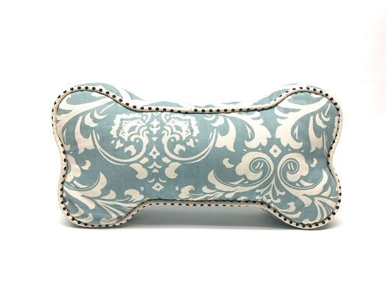 Dog Bone Pillow - Sky Blue