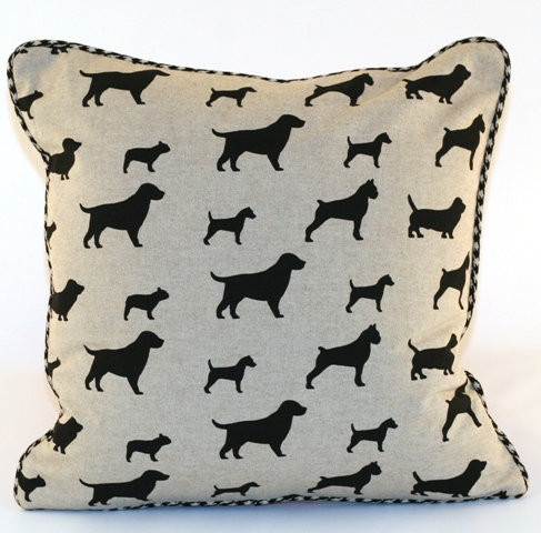 Best Pals Throw Pillow Cover