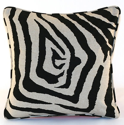 Black Tiger Throw Pillow Cover